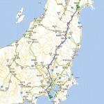 往復1000kmのドライブ旅行
