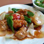 中国海鮮料理北園の絶品ヒレ肉のスブタ