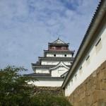 初秋の会津若松城