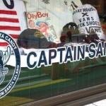 ボートハウスとキャプテンサンタ