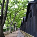 庄内散策 山居倉庫と致道博物館