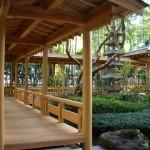 勝山館の回廊
