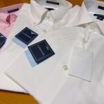 ランズエンド 綿100%の白いシャツ