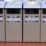 コンビニのゴミ箱