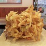 丸亀製麺の野菜かきあげボール