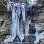 三居沢の氷滝