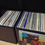 レコード収納ボックス