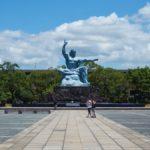 長崎 平和祈念像と原爆資料館