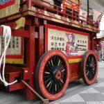 仙台青葉まつり前々日 一番町に展示された山鉾