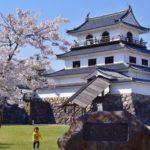 白石城の桜と大河原一目千本桜