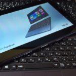新しいノートPC ASUS TransBook T100TA