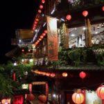 絶対に外せない台湾の観光スポット 夜の九份